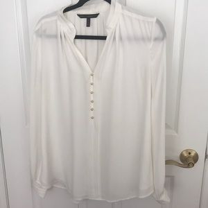 Size 10 white blouse
